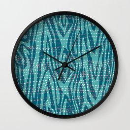Undercurrent Wall Clock