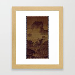 Sesshu Toyo Landscape of Four Seasons - Fall Framed Art Print