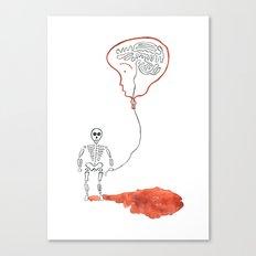 A Slow Unravel Canvas Print