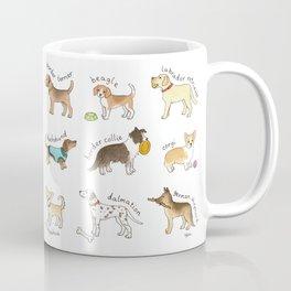 Breeds of Dog Coffee Mug
