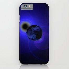 Blue World iPhone Case