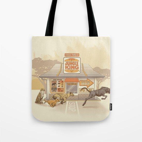 Fast Food (Jungle King) Tote Bag