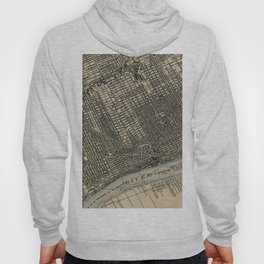 Vintage Map of Detroit Michigan (1904) Hoody