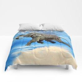 Rajan The Swimming Elephant Comforters