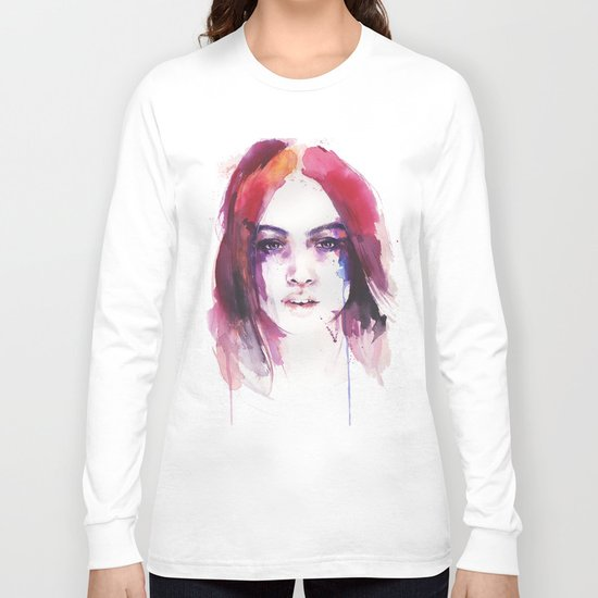 A girl from the other side of the street Long Sleeve T-shirt