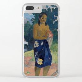 Haere Pape Clear iPhone Case