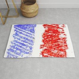 Flag of France 13- France, Français,française, French,romantic,love,gastronomy Rug