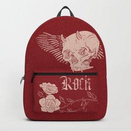 Rock 'n' Roll RED Backpack