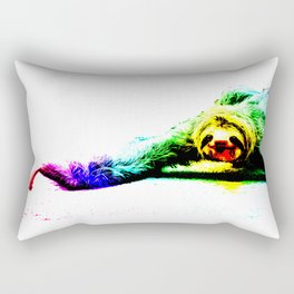 A Smiling Sloth II Rectangular Pillow