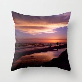 just another sunset Throw Pillow