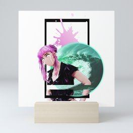 //library of tears Mini Art Print
