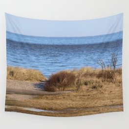At the beach 4 Wall Tapestry