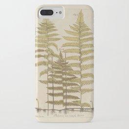 Vintage Fern Botanical iPhone Case