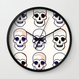 The Gang's All Here Wall Clock
