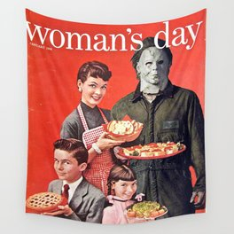Michael Myers as Good Father Wall Tapestry