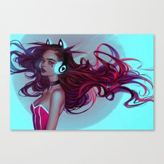 Kit Idoll Canvas Print