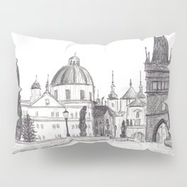 Charles Bridge in Prague, Czech Republic Pillow Sham