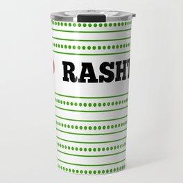 I Love Rasht Travel Mug