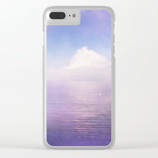 Tranquil Lake Clear iPhone Case