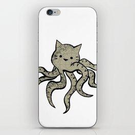 minima - octopuss iPhone Skin