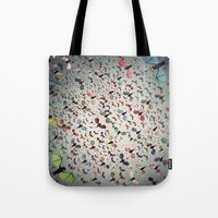 bats Tote Bags featuring Bats by Cody Weber
