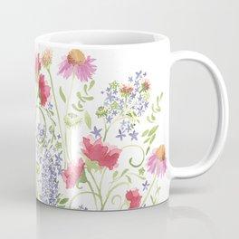Flowering Meadow - Watercolor Coffee Mug