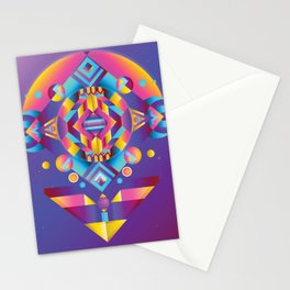 space exploration. Stationery Cards