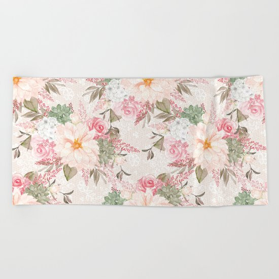 Spring is in the air #20 Beach Towel