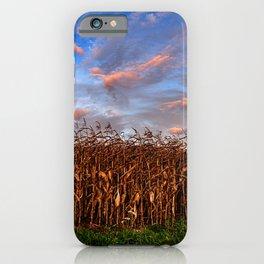 Maize Dusk iPhone Case