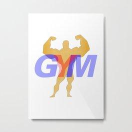 GYM Man 1 Metal Print