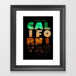 CAL IFO RNI A Framed Art Print