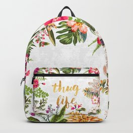 Thug Life - white version Backpack