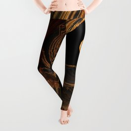 Tiger's Eye Canyon Leggings