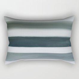 grey strata Rectangular Pillow