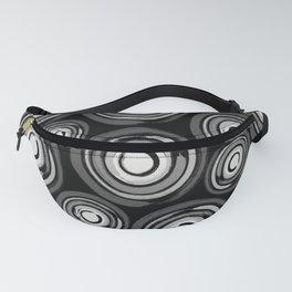 Enso Circles - Zen Circles pattern #2 Fanny Pack