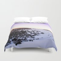 snow Duvet Covers featuring Snow by Michelle McConnell