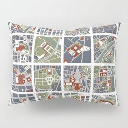 Urban fragments I of NewYork, Paris, London, Berlin, Rome and Seville Pillow Sham
