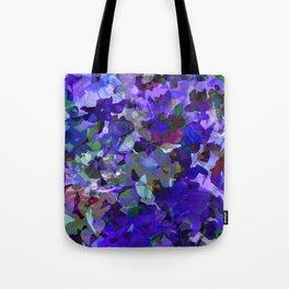 Deep Violet Woods Tote Bag