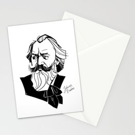 Johannes Brahms Stationery Cards