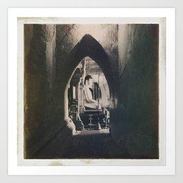 Burmese Memories #4 Art Print