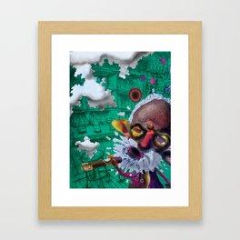 Sometimes a cigar is just a cigar Framed Art Print