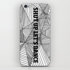 Shut up let's dance iPhone & iPod Skin