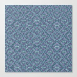 Blue Patch Canvas Print