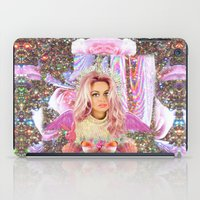 wes anderson iPad Cases featuring KAWAII GLITTER PAMELA ANDERSON by whateverlulu