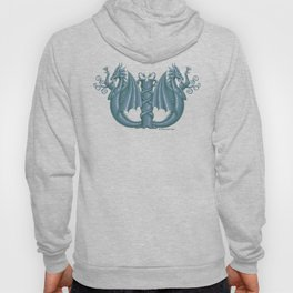 """Dragon Letter W, from """"Dracoserific"""", a font full of Dragons Hoody"""