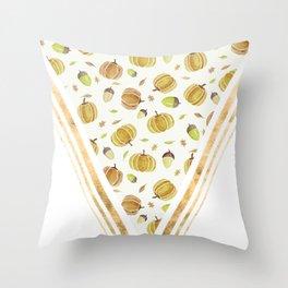 Pumpkin Spiced Throw Pillow