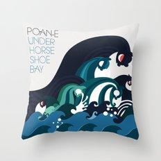 Poan-e Throw Pillow