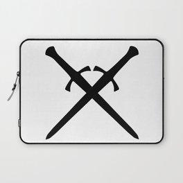 Crossed Daggers Laptop Sleeve