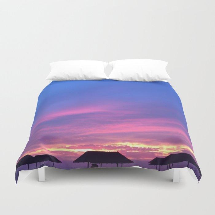 Blue & Purple Sunset Duvet Cover