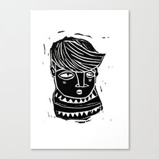 timide Canvas Print